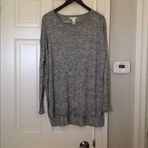 H&M Light knit Heather Sweater Size M